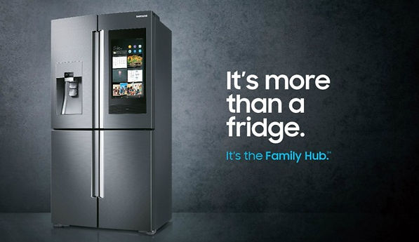 smart kylskåp samsung