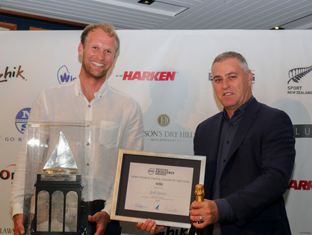 Worser Bay sailors recognised at YNZ awards