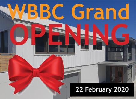 WBBC Grand Opening