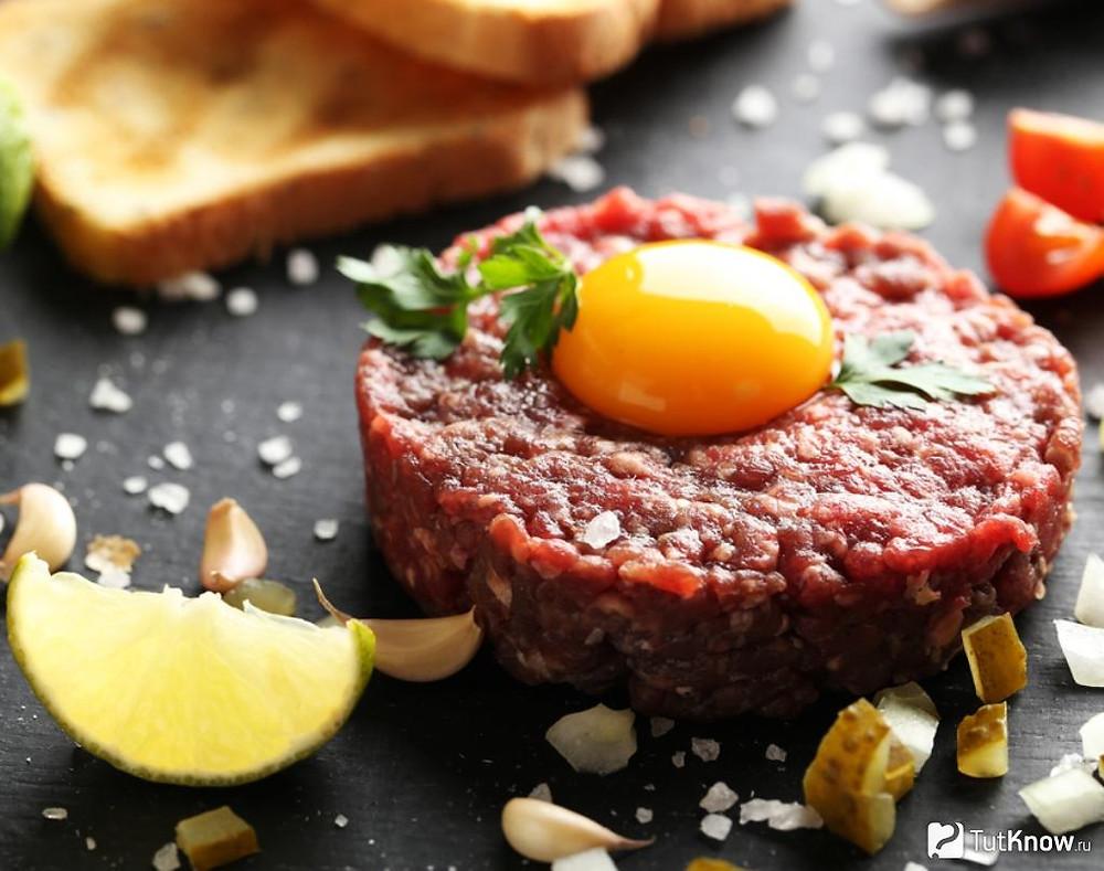 как приготовить тартар из говядины. Лучшие рецепты тартара из говядины.