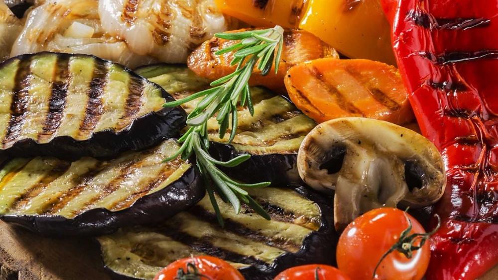 рецепт овощи на гриле. как приготовить овощи на гриле. вкусно и полезно.