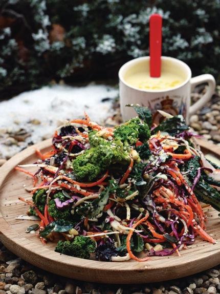 Рецепт зимнего салата рецепт салата из того что есть