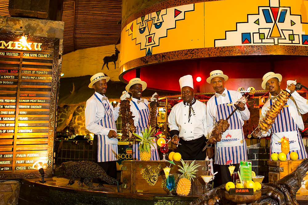 Национальная кухня ЮАР, представленная в ресторане Carnivore