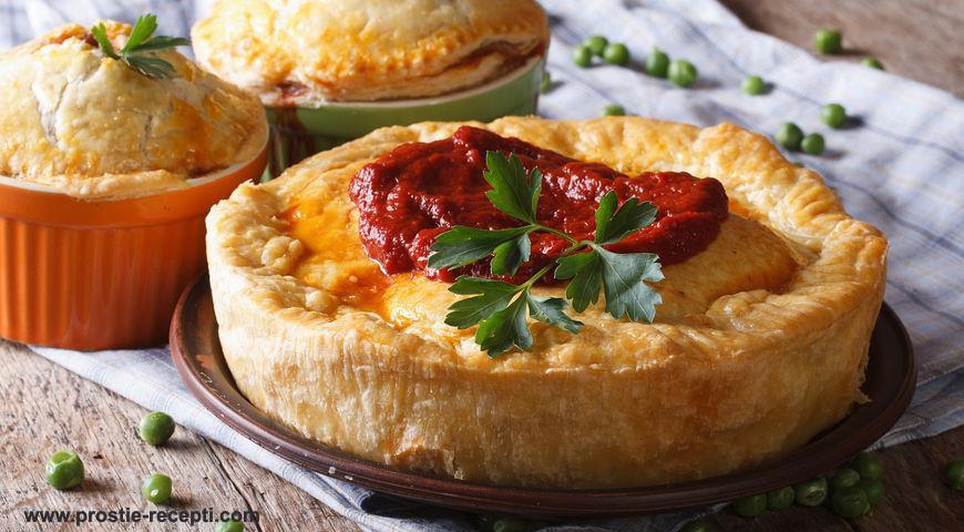 Блюда австралийской кухни. Мясные пироги.