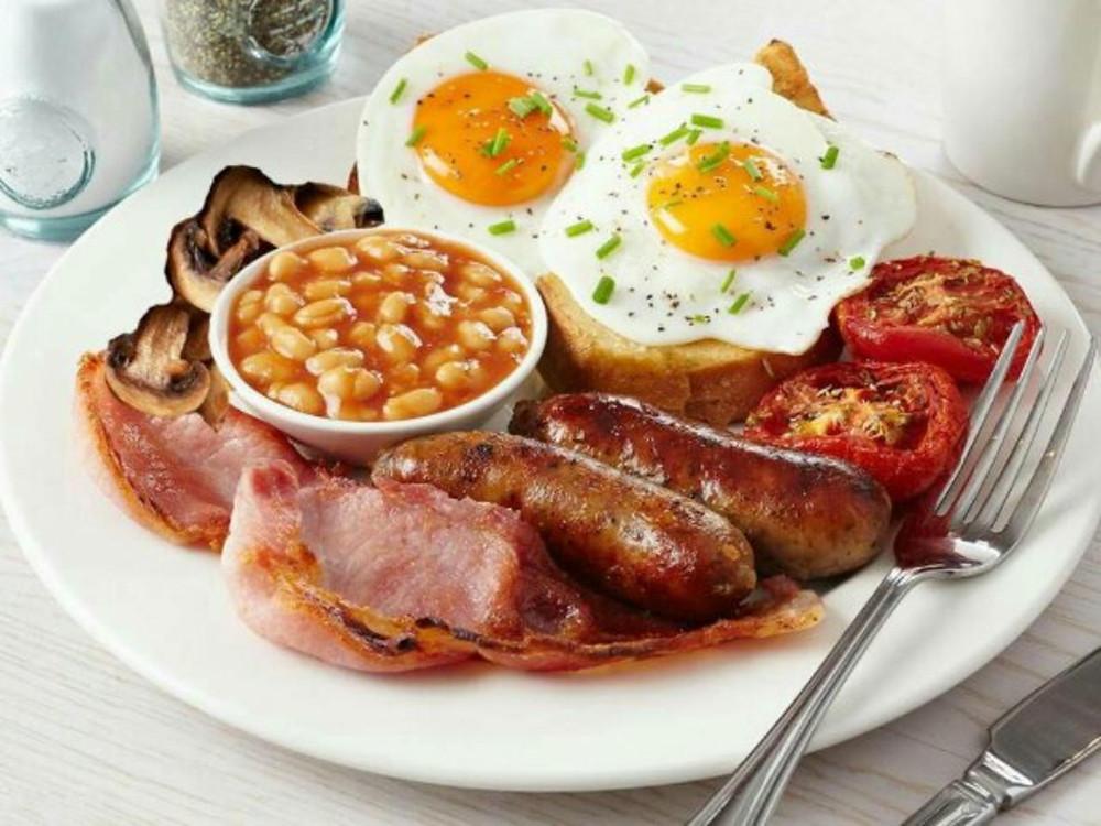 рецепт английского завтрака