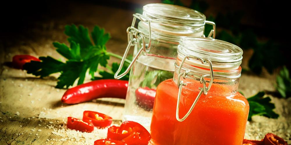 Готовим кисло-сладкий соус чили для жареных креветок