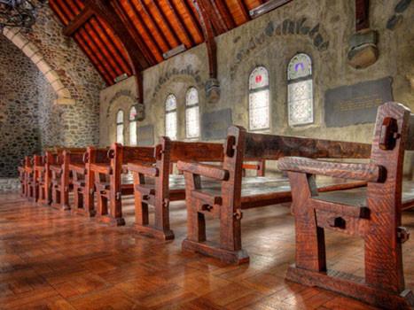 Cave Church Pews