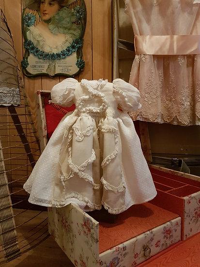 Ravissante robe ancienne de poupée