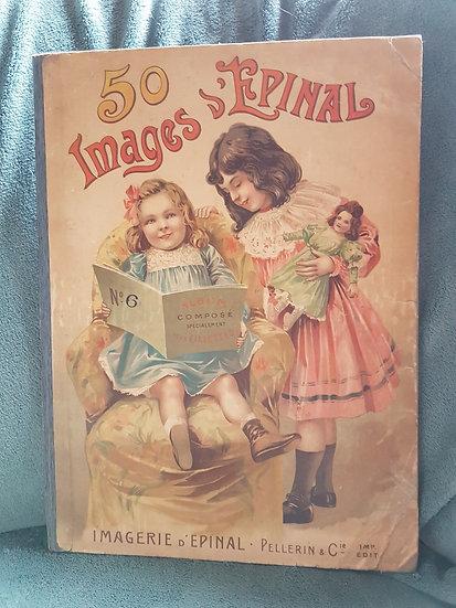Ravissant livre d'Imagerie d'Epinal