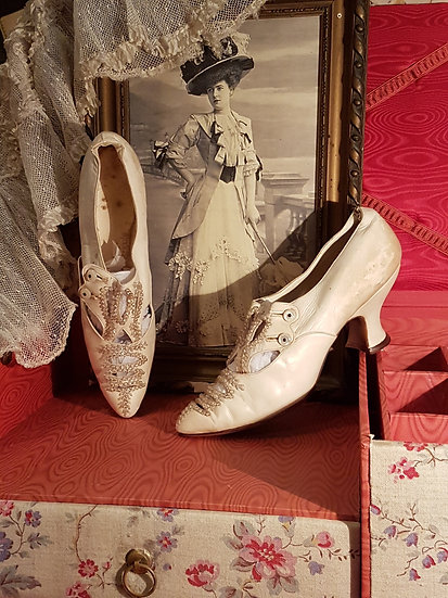 Adorables chaussures 1910/1920's