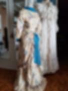 Grenier1900, robe victorienne, faux cul, polonaise, crinoline,