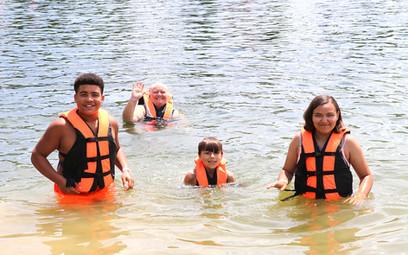 Swimming in the Lake