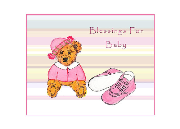 Blessings For Baby Card