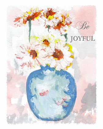 Be Joyful Notecard
