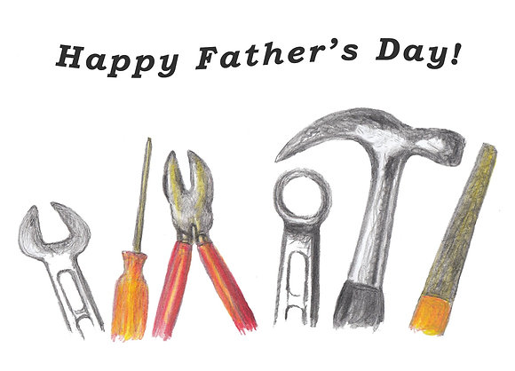 Dad's Tools Card