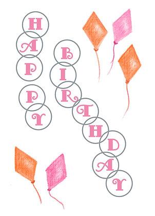 Birthday Kites Card