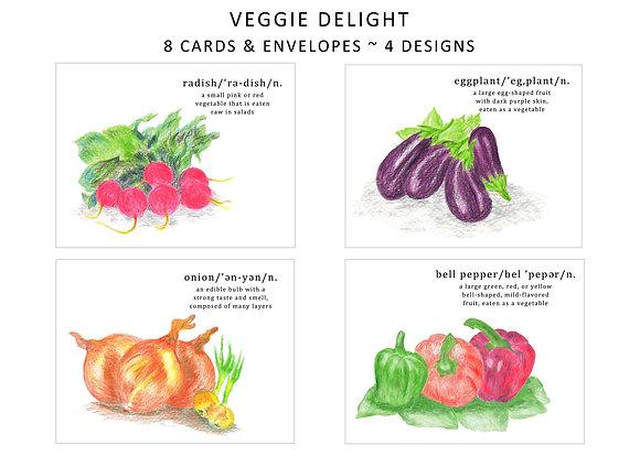 Veggie Delight Note Set