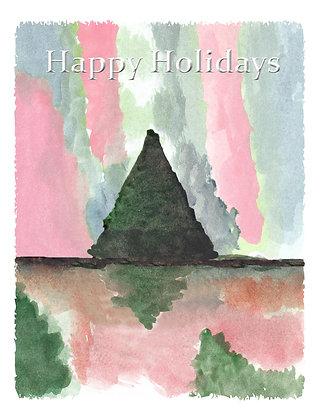 Pastel Holiday Card