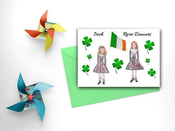 River Dancers Card