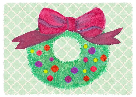 Joyful Wreath Card