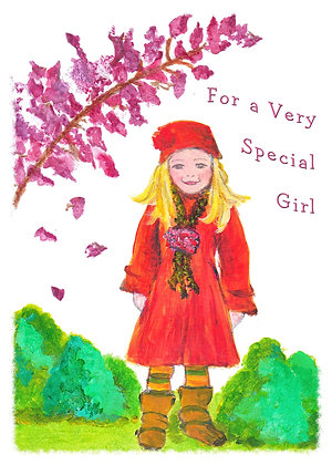 For A Special Girl Card