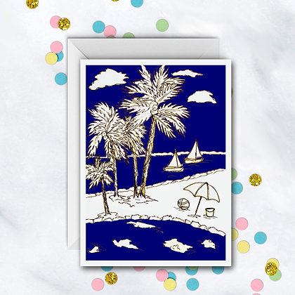 Coastal Living Card