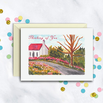Quaint Cottage Card