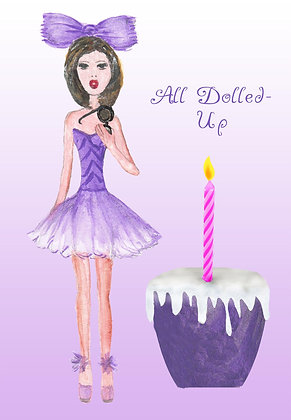All Dolled Up Card