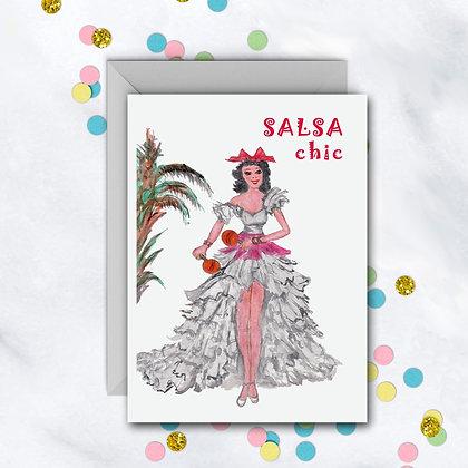 Salsa Chic Card