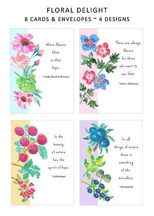 Floral Delight Note Set