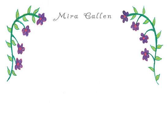 Purple Garland Flat Note