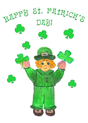 Irish Boy Card