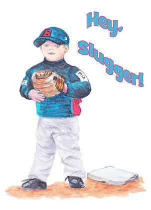 Hey Slugger Card