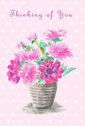 Pink Bouquet Card