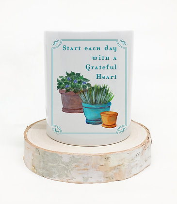 Grateful Heart Pen Holder