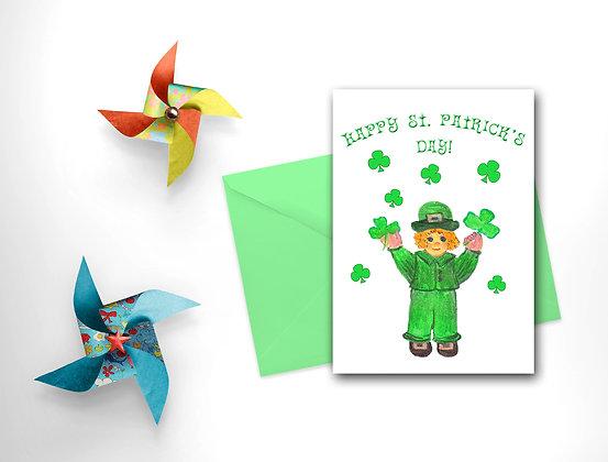 Irish Boy Card