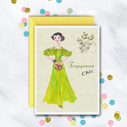 Engagement Chic Card