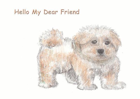 My Dear Friend Card