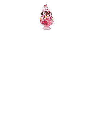 Ice Cream Sundae Notepad