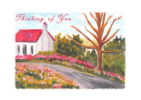 Quaint Cottage Card