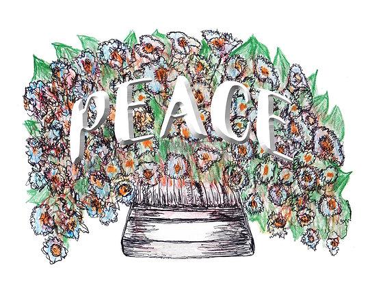 Peace Notecard