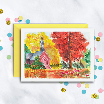 A Fall Day Card
