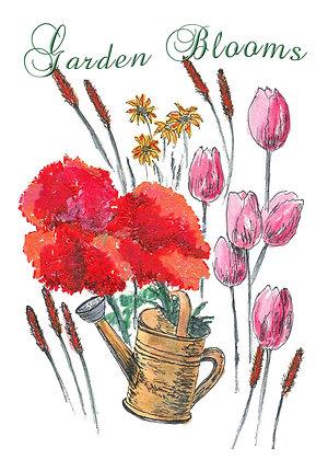 Garden Blooms Card