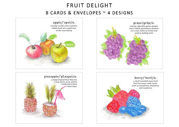 Fruit Delight Note Set
