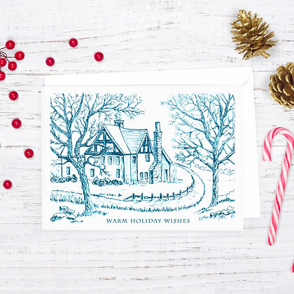 Country Cottage Card