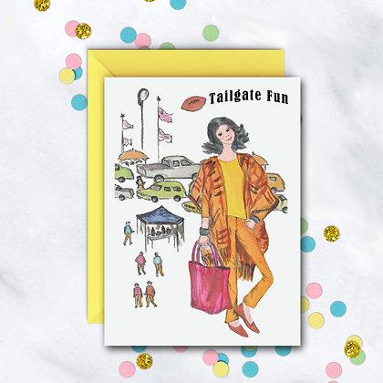 Tailgate Fun Card