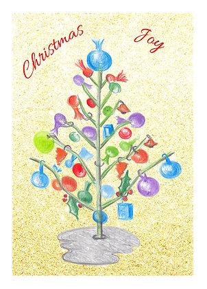 Festive Tree Card
