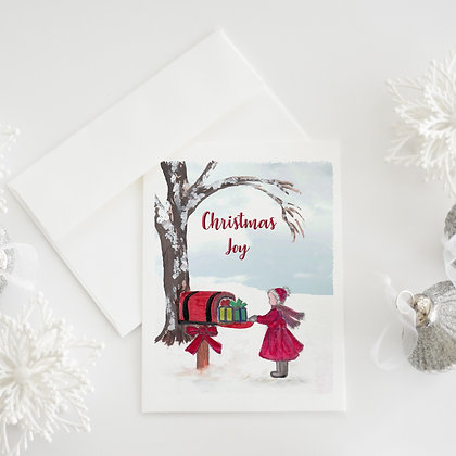 Gifts In Mailbox Card
