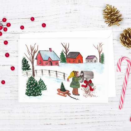 Holiday Mail Card