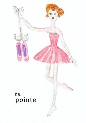 En Pointe Card